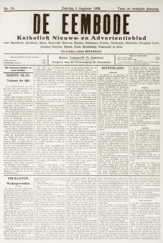 De Eembode 1908-08-01