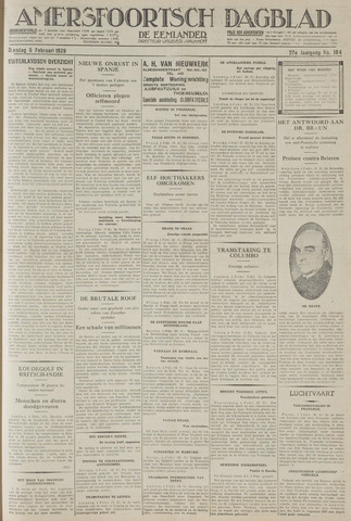 Amersfoortsch Dagblad / De Eemlander 1929-02-05