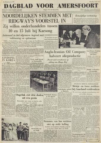 Dagblad voor Amersfoort 1951-07-02