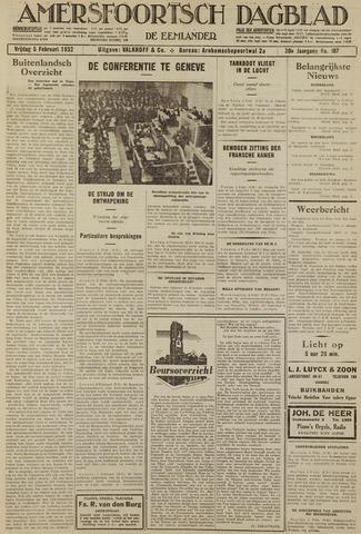 Amersfoortsch Dagblad / De Eemlander 1932-02-05