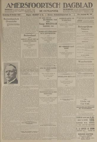 Amersfoortsch Dagblad / De Eemlander 1933-10-26