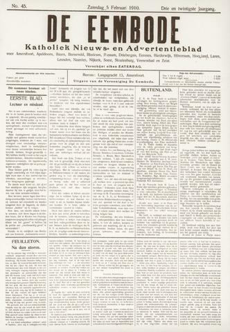 De Eembode 1910-02-05