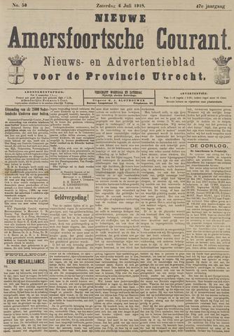 Nieuwe Amersfoortsche Courant 1918-07-06