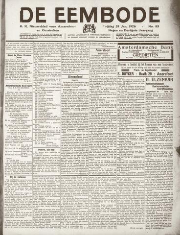 De Eembode 1926-01-29