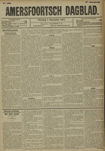 Amersfoortsch Dagblad 1905-12-05