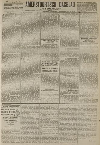 Amersfoortsch Dagblad / De Eemlander 1923-09-12