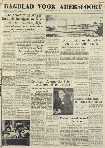 Dagblad voor Amersfoort 1951-05-04