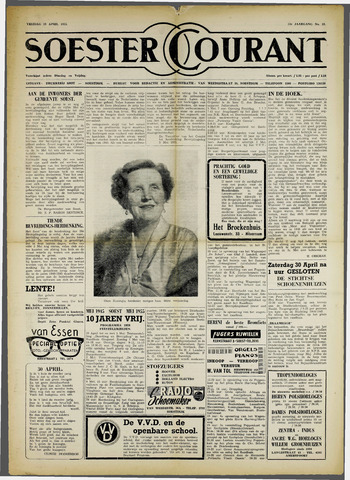 Soester Courant 1955-04-29