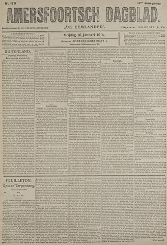 Amersfoortsch Dagblad / De Eemlander 1914-01-16