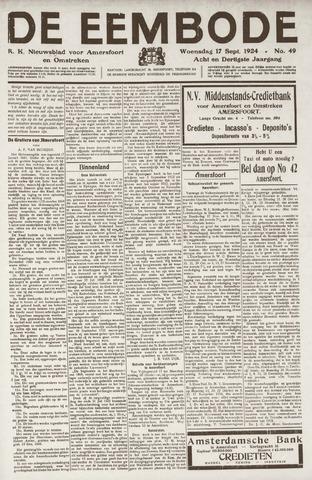 De Eembode 1924-09-17