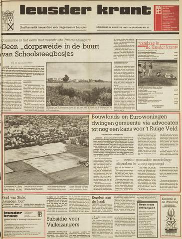 Leusder Krant 1986-08-14