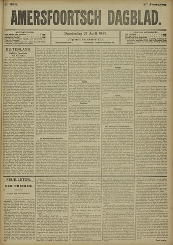 Amersfoortsch Dagblad 1905-04-27