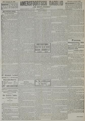Amersfoortsch Dagblad / De Eemlander 1922-04-26