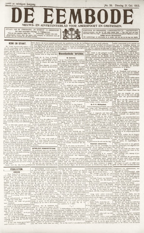 De Eembode 1913-10-21
