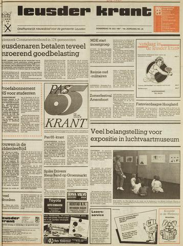 Leusder Krant 1987-07-30