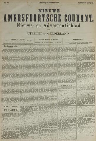 Nieuwe Amersfoortsche Courant 1890-11-15