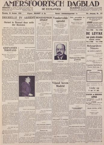 Amersfoortsch Dagblad / De Eemlander 1936-10-26