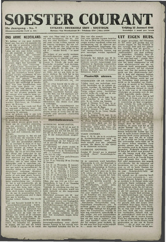 Soester Courant 1946-01-25