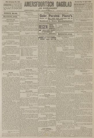 Amersfoortsch Dagblad / De Eemlander 1925-04-16