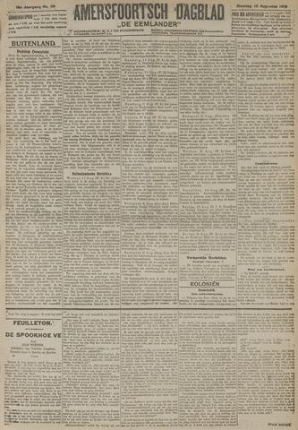 Amersfoortsch Dagblad / De Eemlander 1919-08-12