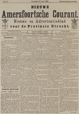 Nieuwe Amersfoortsche Courant 1904-04-27