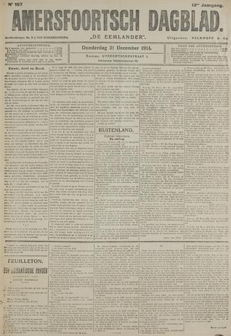 Amersfoortsch Dagblad / De Eemlander 1914-12-31