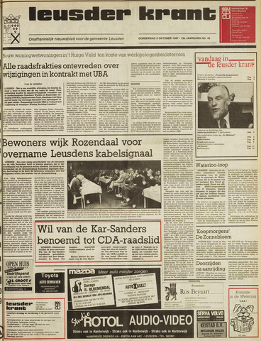 Leusder Krant 1987-10-08