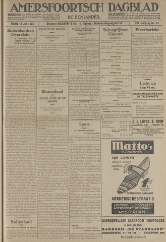 Amersfoortsch Dagblad / De Eemlander 1933-07-14