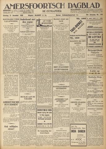 Amersfoortsch Dagblad / De Eemlander 1935-12-21