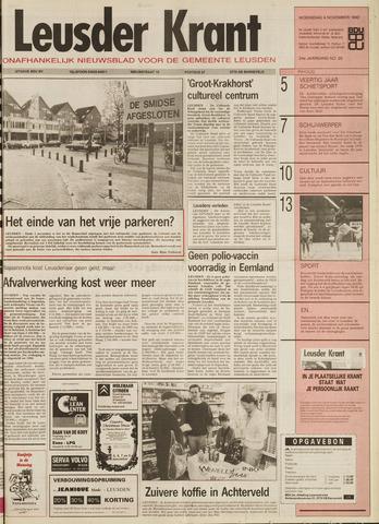 Leusder Krant 1992-11-04