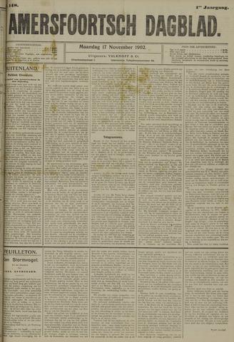 Amersfoortsch Dagblad 1902-11-17