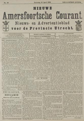 Nieuwe Amersfoortsche Courant 1909-04-10