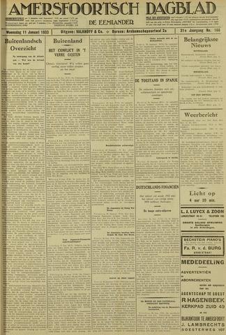 Amersfoortsch Dagblad / De Eemlander 1933-01-11