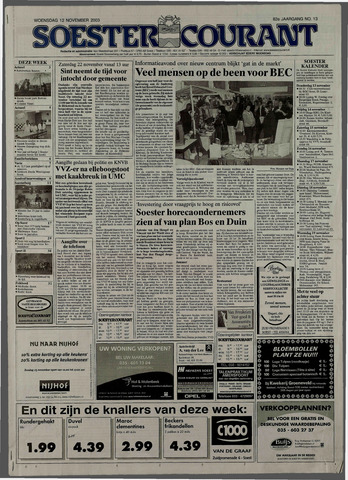 Soester Courant 2003-11-12