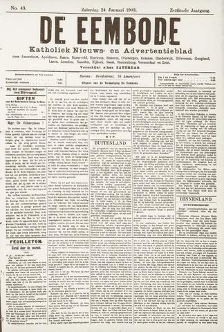 De Eembode 1903-01-24