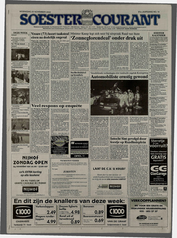 Soester Courant 2002-11-20