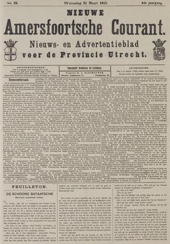 Nieuwe Amersfoortsche Courant 1915-03-31