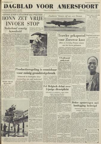 Dagblad voor Amersfoort 1951-02-22