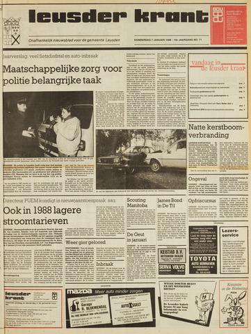 Leusder Krant 1988-01-07