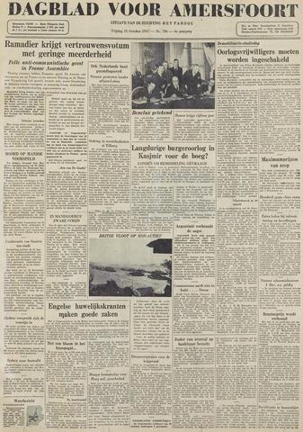 Dagblad voor Amersfoort 1947-10-31