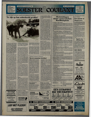 Soester Courant 1990-08-15