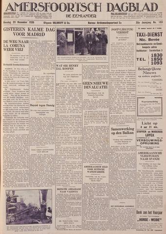 Amersfoortsch Dagblad / De Eemlander 1936-12-29