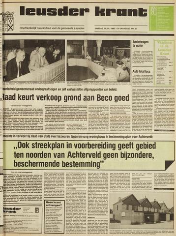 Leusder Krant 1985-07-23