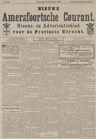 Nieuwe Amersfoortsche Courant 1910-11-30