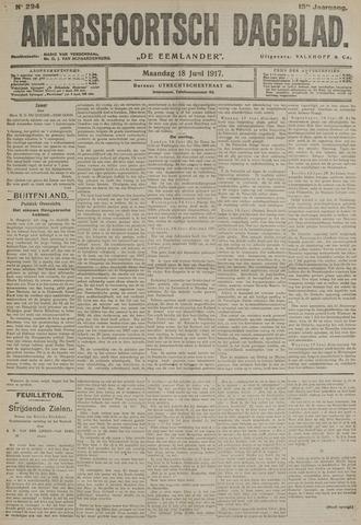 Amersfoortsch Dagblad / De Eemlander 1917-06-18