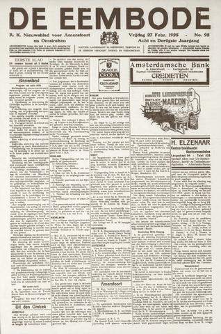 De Eembode 1925-02-27