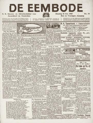 De Eembode 1927-10-18