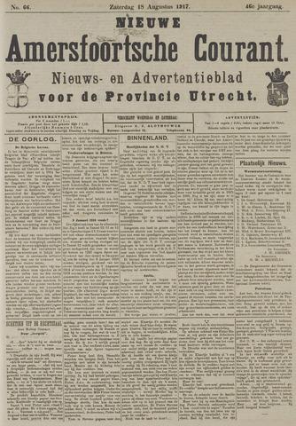 Nieuwe Amersfoortsche Courant 1917-08-18
