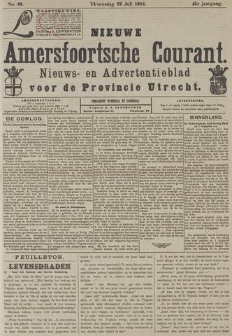 Nieuwe Amersfoortsche Courant 1916-07-26