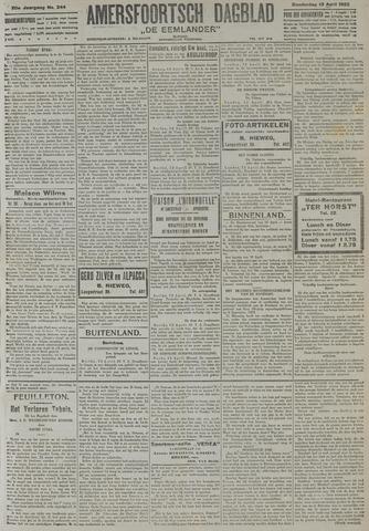 Amersfoortsch Dagblad / De Eemlander 1922-04-13